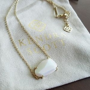 Kendra Scott White Iridescent Isla